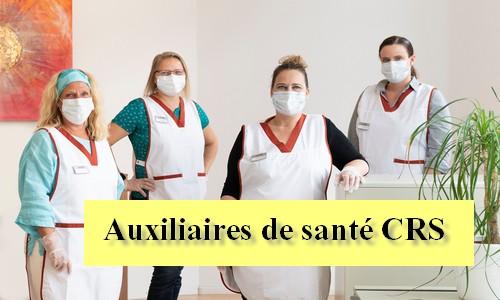 Auxiliaires de santé CRS